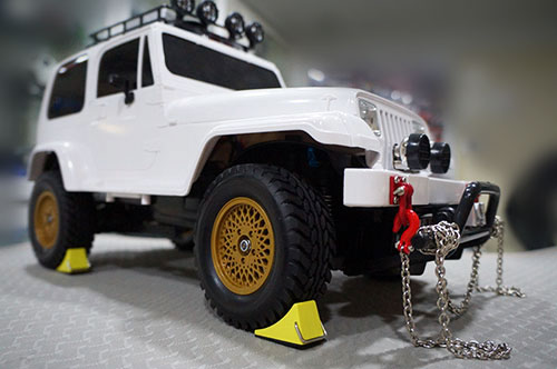 Yeah Racing 1/10 RC Rock Crawler Accessory Reifenstopper 2pcs For Tractor Truck #YA-0383