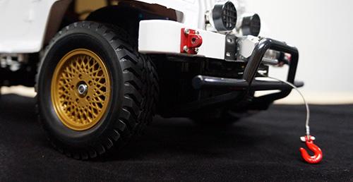 Yeah Racing 1/10 RC Rock Crawler HD Full Metal Steel Wired Winch Control Unit Type A #YA-0386