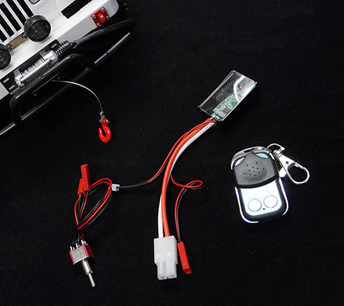 Yeah Racing 1/10 Wireless Remote Receiver Winch Control Set #YA-0389