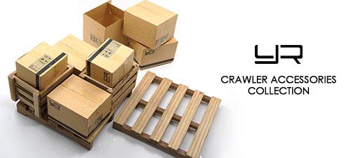 Yeah Racing 1/10 1/14 RC Crawler Accessory Moving Box #YA-0398