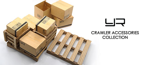 Yeah Racing 1/10 RC Crawler Accessory Wooden Loading Pallet #YA-0399