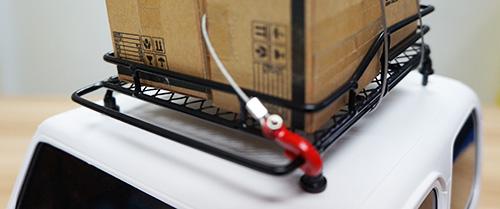 Yeah Racing 1/10 RC Rock Crawler Accessories Metal Mesh Wire Luggage Tray Type C 14cm X 10cm X 3.5cm #YA-0403
