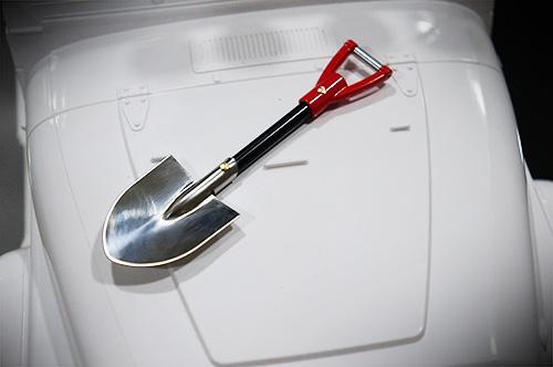 Yeah Racing 1/10 RC Rock Crawler Accessory Aluminum Shovel #YA-0406