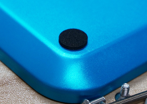 Yeah Racing Aluminum Screw Tray Blue 12cm X 10cm X 1.5cm #YA-0413BU