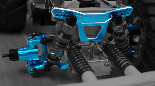 Long-Span Suspension Arms And Knuckles Performance Upgrade Kit For Tamiya WR02 WR02G GF01