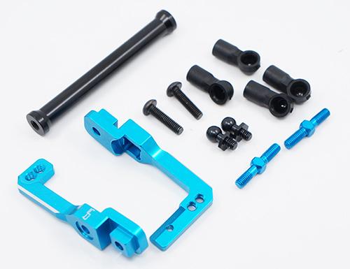 Yeah Racing Aluminum Long-Span Suspension Arms And Knuckles Performance Upgrade Kit For Tamiya MF01X #TAMC-S07BU