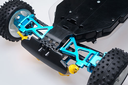 Yeah Racing Aluminum Essential Conversion Kit For Tamiya TT02B #TATT-S01BU