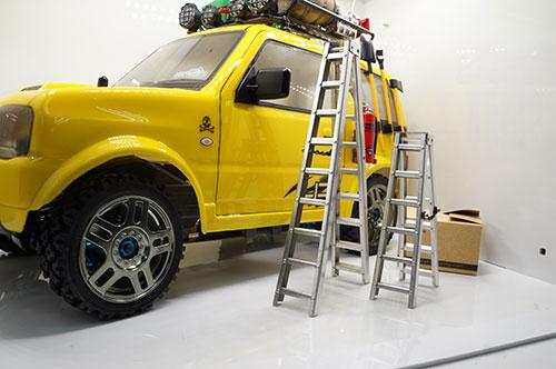 yeah racing1/10 RC Rock Crawler Accessories inch Aluminum Ladder