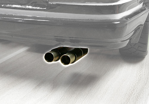 #YA-0466 1/10 Scale Stainless Steel Exhaust Pipe