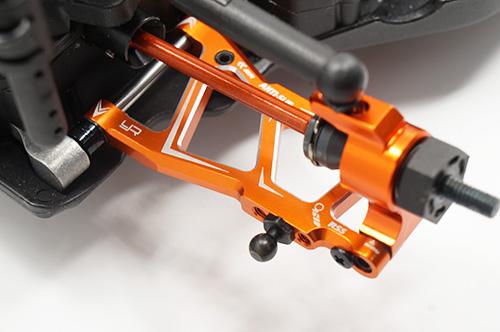 Aluminum Rear Lower Arm Set For HPI RS4 Sport3