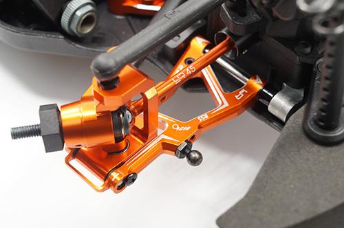 Ball Bearing Aluminum C-Hub Set For HPI RS4 Sport3