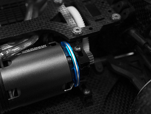 Yeah Racing Aluminum Motor Spacer Heatsink