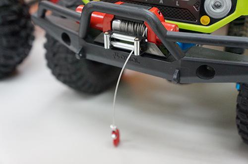 Yeah Racing 1/10 RC Rock Crawler HD Full Metal Steel Wired Winch Control Unit Type C #YA-0388
