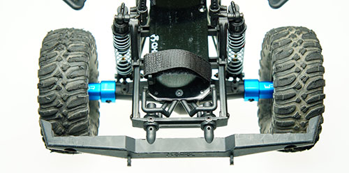 Yeah Racing Aluminum Essential Conversion Kit For Axial SCX10 #SCX10-S01