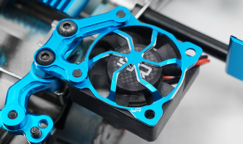 Yeah Racing Aluminum Fan Protector