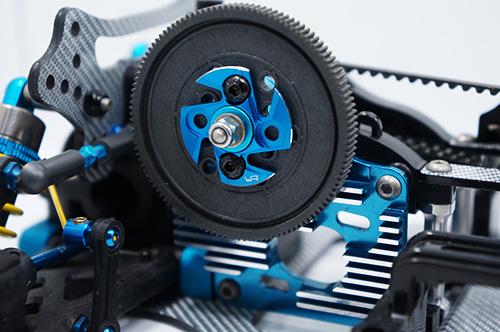 Yeah Racing Aluminum Spur Gear Support Plate