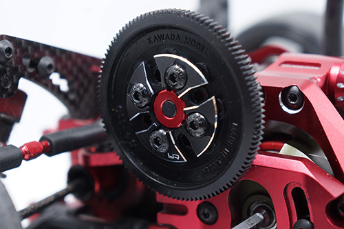 Yeah Racing Aluminum Spur Gear Support Plate