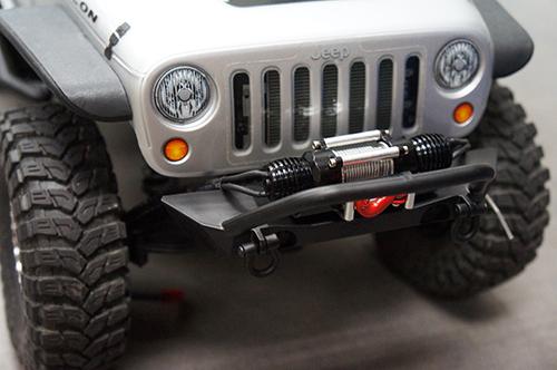 Yeah Racing 1/10 RC Rock Crawler Dual Motor HD Full Metal Steel Wired Winch w/ Control Unit #YA-0511BK