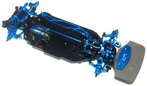 Yeah Racing Aluminum Conversion Kit For Tamiya TT02 #CK-TT02BU