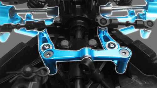 Yeah Racing Aluminum Essential Conversion Kit For Tamiya TT02 #TT02-S01