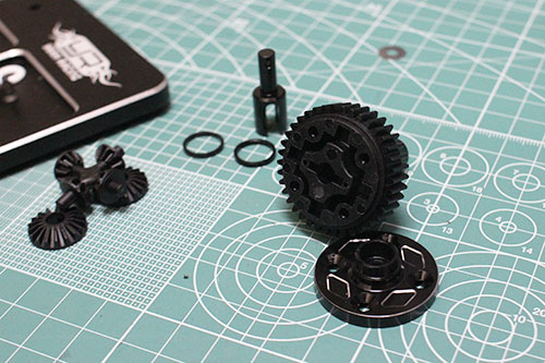 Yeah Racing 38T Gear Differential Set For Tamiya M05 M06 #TAMC-023