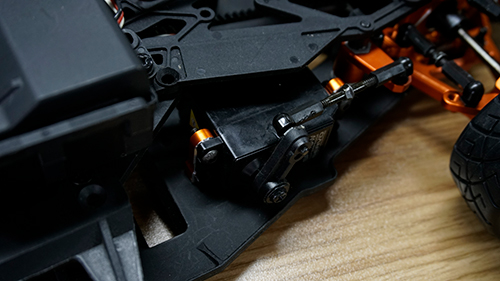 Yeah Racing Aluminum Height Adjustable Servo Mount For 1/10 Black #YA-0538BK