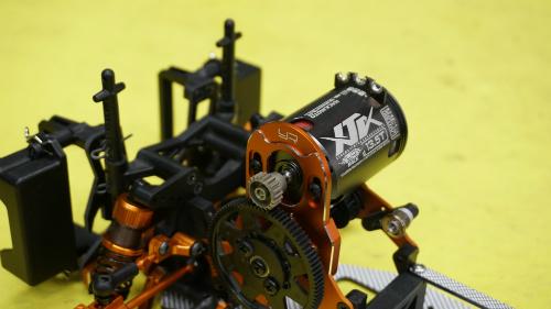 Yeah Racing Aluminum High Motor Mount For HPI Sprint 2 Orange #SPT2-012OR