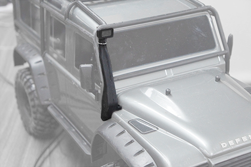 Yeah Racing Rubber Safari Snorkel for Traxxas TRX-4 #TRX4-018