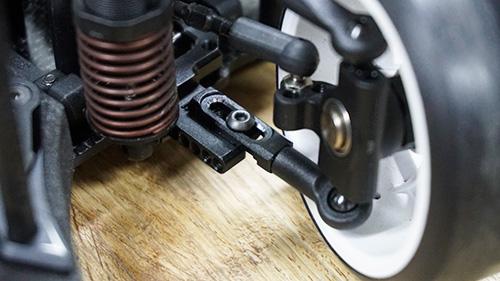 Yeah Racing Aluminum Performance Upgrade Kit For Yokomo YD2 Black #YKYD-S01BK