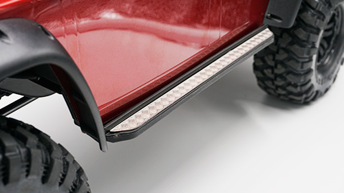 Yeah Racing Stainless Steel Front Hood Side Diamond Plate for Traxxas TRX-4 #TRX4-020