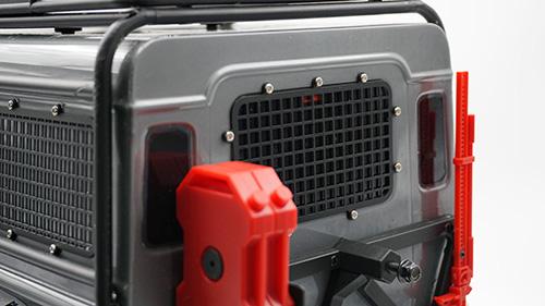 Yeah Racing Windows Guard Set For Traxxas TRX-4 Black #TRX4-024BK