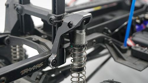 Yeah Racing Aluminium Rear Damper Mount For Traxxas TRX-4 Black #TRX4-007BK