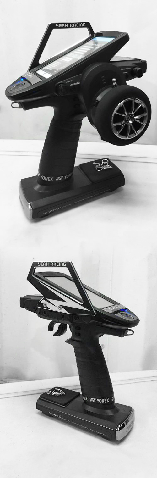 Yeah Racing Aluminum Carrying Handle For Futaba 7PX #YA-0556