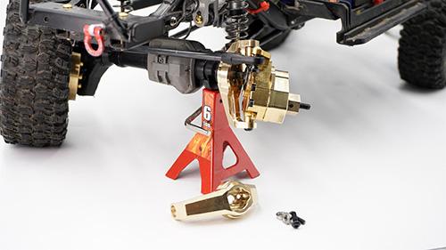 Yeah Racing Brass C Hubs 49g 2 pcs For Traxxas TRX-4 #TRX4-040