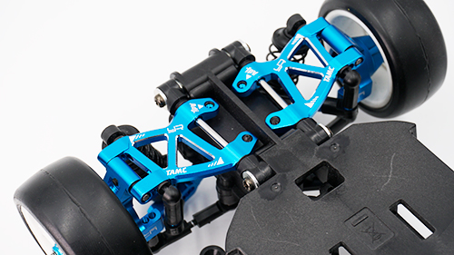 Yeah Racing Aluminum Rear Suspension Arm Set For Tamiya M07 #TAMC-028BU