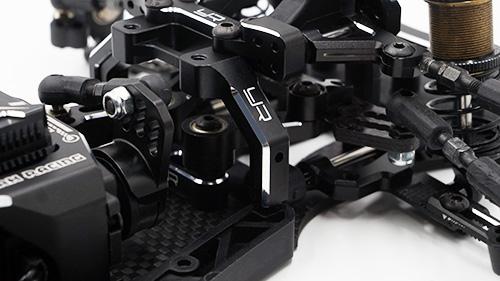 Yeah Racing Aluminum Suspension and Steering Performance Upgrade Kit For Yokomo YD2 YD2S Black #YKYD-S02BK