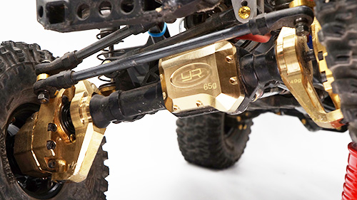 Yeah Racing Brass Diff Cover 59g For Traxxas TRX-4 #TRX4-041