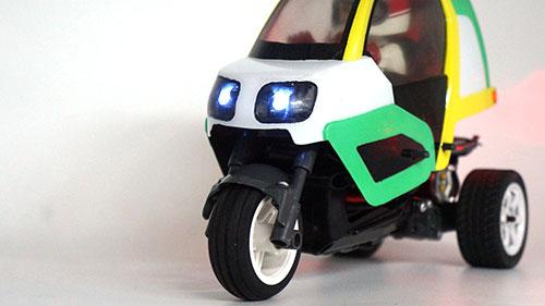 Yeah Racing Front & Rear LED Light Set For Tamiya Dancing Rider Trike T3-01 #TAT3-005