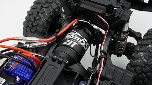 Yeah Racing Hackmoto 550 Brushed Motor