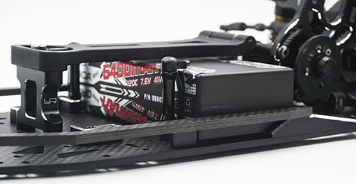 Yeah Racing Aluminum Top Deck Mount for Yokomo YD2S Black #YKYD-020BK