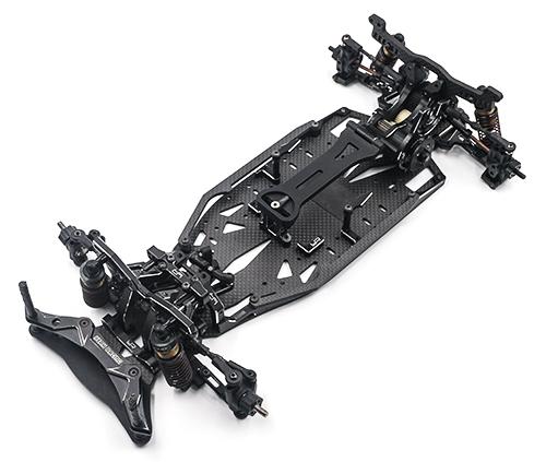 Yeah Racing Aluminum Performance Upgrade Kit For Yokomo YD2S Black #YKYD-S03BK