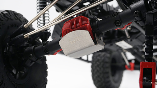 Yeah Racing Stainless Steel Front or Rear Differential Protector For Axial SCX10 II #AXSC-001