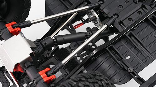 Yeah Racing Stainless Steel Links M4 Crawler