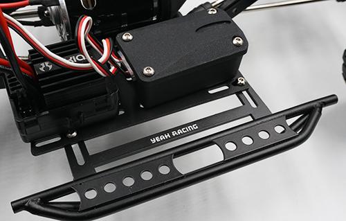 Yeah Racing Metal Rock Rails w/ Receiver Box For Axial SCX10 II #AXSC-004