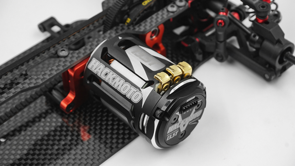Yeah Racing Hackmoto V 5.5T 540 Brushless Sensored Motor #MT-0030