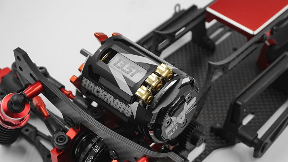 Yeah Racing Hackmoto V 5.5T 540 Brushless Sensored Motor #MT-0030