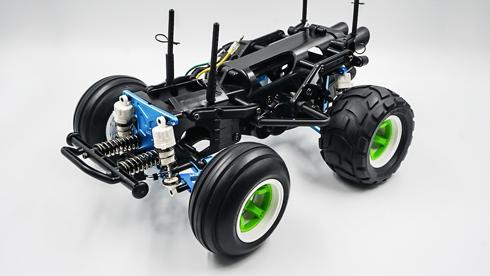 Yeah Racing Aluminum Performance Upgrade Kit For Tamiya WR02CB Black #TAWR-S02BK