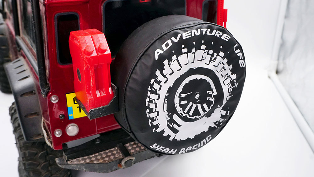 Yeah Racing Tire Cover Adventure Life For TRAXXAS TRX4 #TRX4-063