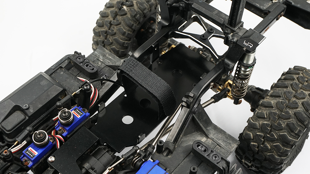 Yeah Racing Alloy Low CG Battery Plate For Traxxas TRX-4 #TRX4-065