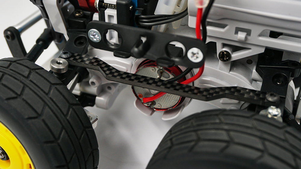 Yeah Racing Graphite Upper Arm Connectors For Tamiya SW-01 #TASW-003